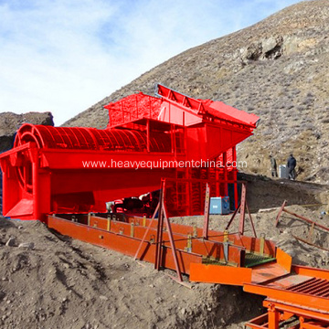 Alluvial Wash Plant Mobile Gold Trommel For Sale
